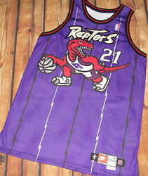 100 Authentic Nike Raptors Marcus Camby Game Issued Jersey Sz 50+3 Pro Cut