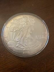 2003 10 Oz Silver Eagle Round With State Quarters
