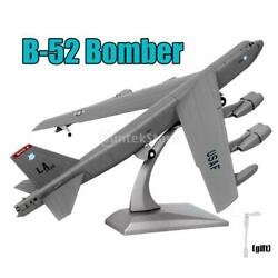 3d B-52 Bomber Aircraft Model 1/200 Scale Military Airplane Toy Ornaments