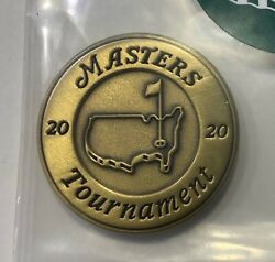 2020 Masters Augusta National Golf Club Employee Thank You Medallion Very Rare