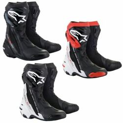 2021 Alpinestars Supertech R Non-vented Street Motorcycle Boots - Pick Size
