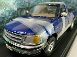 7225 American Muscle Blue 1997 Ford F150 Xlt Pick-up Die Cast 118