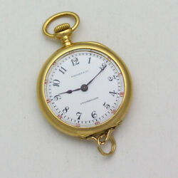 Ed Koehn For And Co. 27.5mm 18k Yellow Gold Pendant Pocket Watch