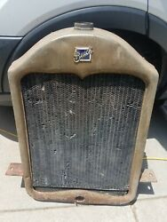 1920's Buick Grille Radiator And Cover Rare Antique Car Part