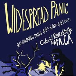 1-4 Widespread Panic Napa 3 Day Passes Tickets Oxbow Commons 8/27 8/28 8/29