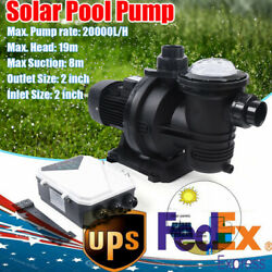 Solar Water Pump Fountain Pool Solar Water Pump +removable Filter Dc Brushless