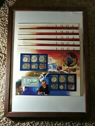1964 Uncirculated Coin Mint Set Postal Commemorative Society Collectibles