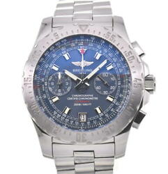 Breitling Sky Racer A27362 Chronograph Blue Dial Automatic Menand039s Watch S104487