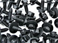 60 Pcs Ford Truck Body Bolts- M8-1.25 X 25mm- 13mm Hex- 24mm Washer- 169s