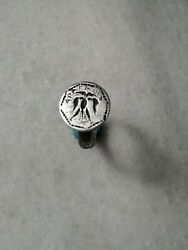 Antique Rare Late Medieval Pre Georgian Silver Occult Signet Ring
