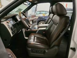 2010 F150 Front Back 10 Way Power Heated Cooled Seat Brown Black Leather Trim 9b