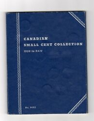 Canadian Penny Collection 1920 To 1972 53 Coins In Album