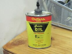 Vintage Outers 445 Gun Oil 3oztin Can Partially Full Firearms