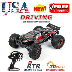 F14a Car High Speed 1/10 2.4ghz Racing 70km/h 4wd 3battery Toy With Metal Parts