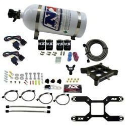 Nitrous Express 4150 Dual Stage Billet Crossbar Nitrous Kit 50-300 And 100-500hp