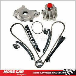 Timing Chain Kit Oil Water Pump Fit For 02-13 Ford F150 F250 F350 Explorer 5.4l