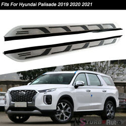 Side Steps Fits For Hyundai Palisade 2020 2021 Nerf Bar Running Boards Protector