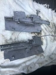 1956-1957 Ford Thunderbird Manual Seat Tracks Good Clean Operational With Cable