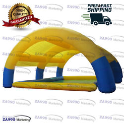 36x33ft Commercial Inflatable Inflatable Pool With Sun Shade With Air Pump