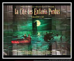 The City Of Lost Childrens 10x13 Ft Giant Billboard Original Movie Poster 1995