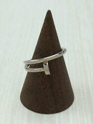 Juste Un Clou Ag 750 Ring Silver925 Size 6 In Storage Box From Japan