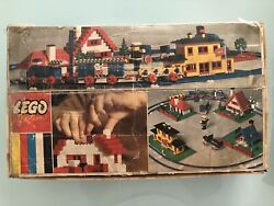 Jouet Ancien Lego System 080 Basic Building Set With Train 1967