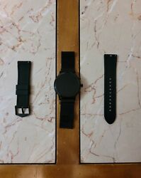 Fossil Carlyle Gen 5 44mm Stainless Steel Case Menand039s Smartwatch Ftw4025 Wear Os