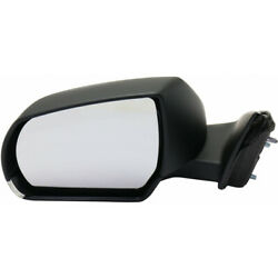 For Cadillac Ats Mirror 2014-2018 Driver Side Manual Folding Heated Gm1320553