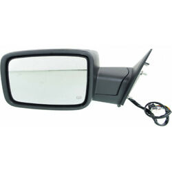 For Ram 1500 Mirror 2013-2018 Driver Side Power Folding Heated Non-towing Chrome