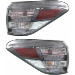 For Lexus Rx350 Tail Light Assembly 2010 2011 2012 Pair Lh And Rh Side