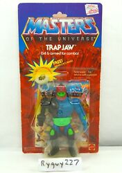 Motu, Trap Jaw, Masters Of The Universe, Moc, Carded, Figure, He Man, Sealed