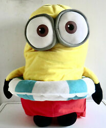 Giant Despicable Me Minion Soft Plush Toy With Lifebelt - Two Feet High 60cm