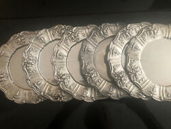Francis I By Reed And Barton 6 Sterling Bread And Butter Plates Perfect