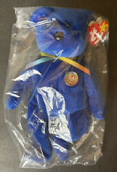 Rare Ty Beanie Baby Clubby Teddy Bear Mint Condition In Original Unopened Bag