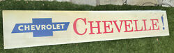 1967 Chevy Chevelle Hanover Electric Vintage Lighted Dealer Showroom Sign.rare