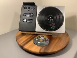 Dj Hero 1 Activision Ps3 Turntable Bundle Video Game. No Dongle