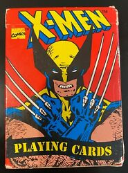 Vintage Marvel X-men Playing Cards 1993 Great Condition Wolverine Cyclops