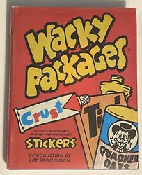 Wacky Packages Book 2008 1st Print And Bonus Stickers Signed W Drawing By Lynch