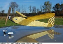 Jimmie Allen Special Ca03 Easy Built Balsa Wood Model Airplane Kit Rubber Pwd