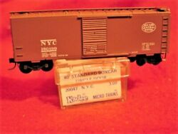 Kd 20047 Rare Blue Label New York Central 40' Box Car 180199 'mint' N-scale