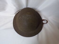 Ww1 Doughboy Helmet Eng. Corps Co-b Liner/chinstrap Present Named T.v. Ramsey