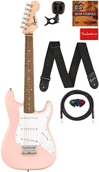 Fender Squier 3/4 Size Kids Mini Stratocaster Electric Guitar Learn-to-play Bund