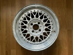 1x Bbs Rs 001 15 4x100 Wheel Without Center Cap