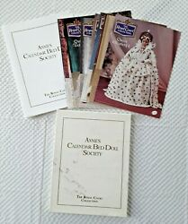 Annie's Calendar Bed Doll Society The Royal Court Collection Crochet 11 Patterns