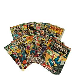 Lot Of 13 Marvel Comics Marvel Double Feature 2, 3, 4, 6, 7, And More Mid Grade
