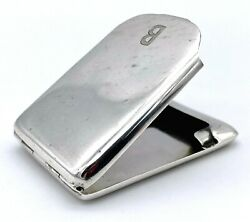 Silver Matchbook Holder By William Neale And Son Ltd – 1924