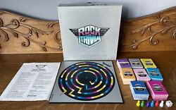 Vintage Rock Trivia Board Game 1984 Party Family Game 100 Complete Free Ship