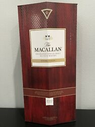 Macallan Scotch Whisky Empty Bottle With Box - Rare Cask 2020 Release