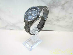 Citizen Satellite Wave F900-t022189 Used Eco-drive Solar Mens Watch Auth Works