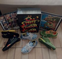 Ous X Street Fighter Shoes Collection Sold Out